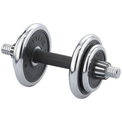 Kettler Korthalter-Set Chrom-Rubber ca. 10 kg