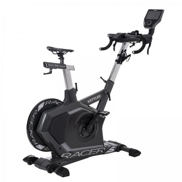 Kettler indoor cycle Racer S exclusive model incl. Kettler World Tours 2.0