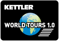 Kettler Trainingssoftware World Tour 1.0 Detailbild