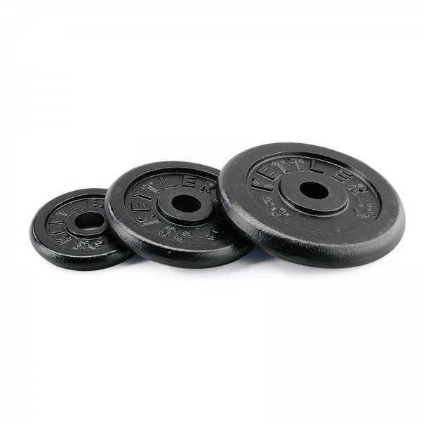 Kettler cast iron weight plates