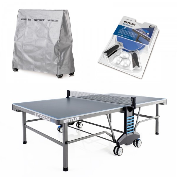 Kettler Table Tennis Table Outdoor 10 Set
