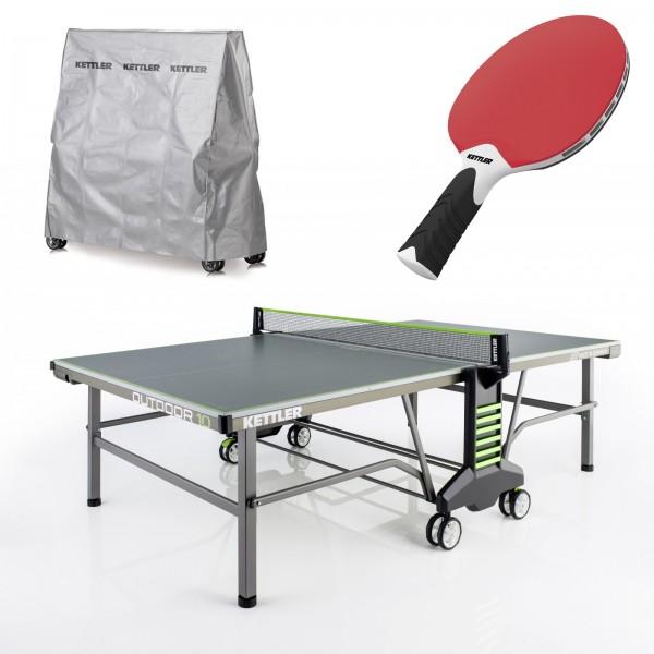 kettler table de ping pong outdoor 10 acheter bon prix chez fitshop. Black Bedroom Furniture Sets. Home Design Ideas