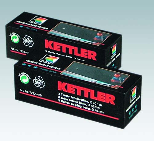 Kettler TT-Ballen Three Star
