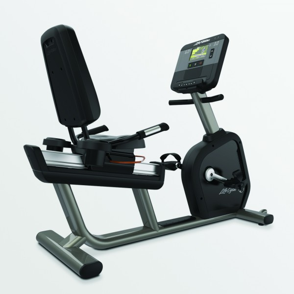 Life Fitness Recumbent Lifecycle Club Series+