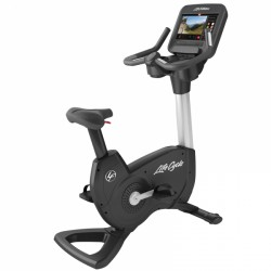 Life Fitness PCSC Upright Bike SE3 Artic Silver