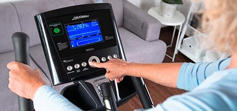 Figure: Inteligentní LCD panel pro všestranný a efektivní trénink