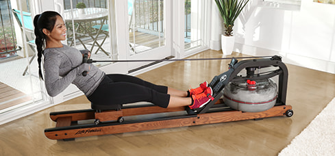 Figure: Life Fitness Row HX Trainer – row like being on water