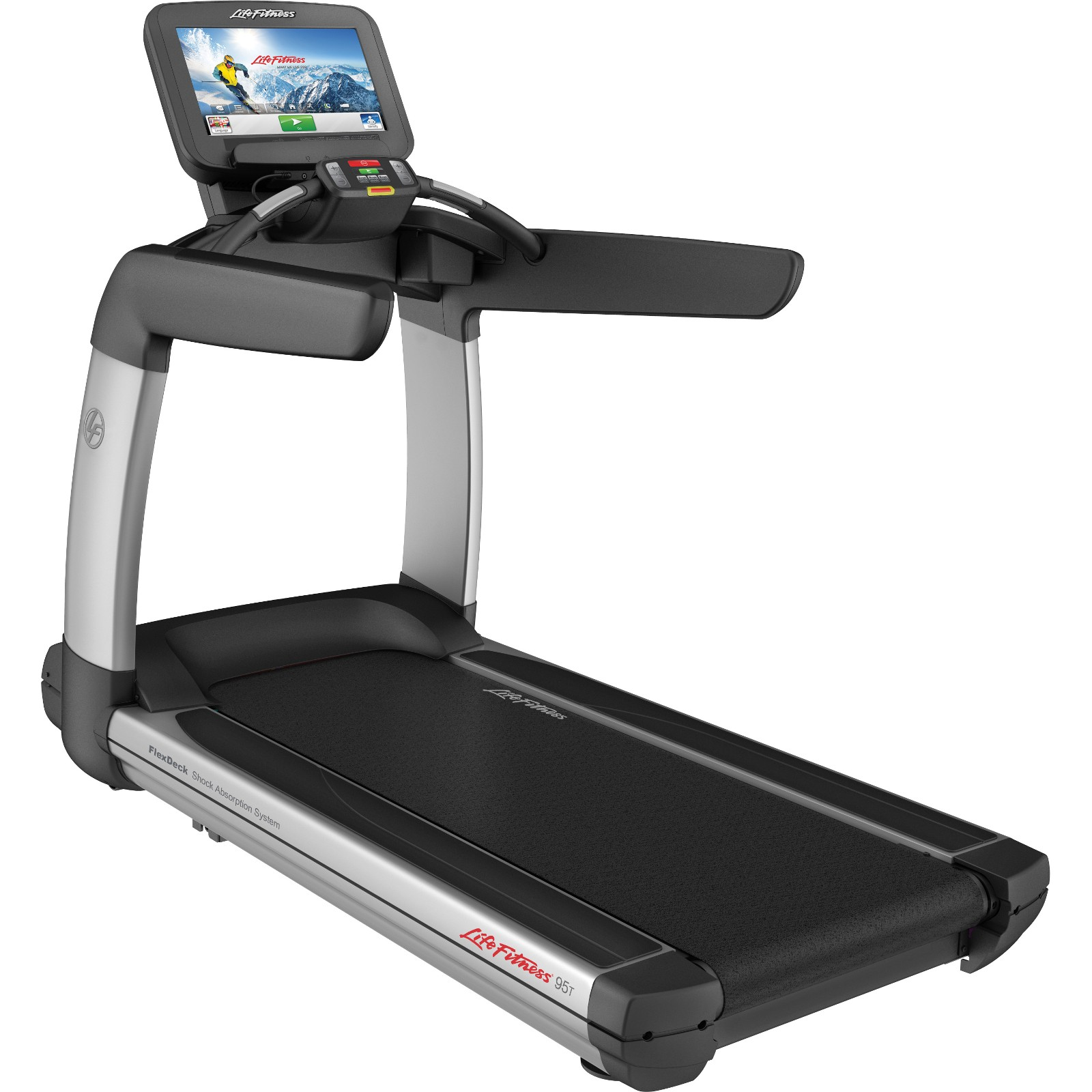 life fitness platinum club series discover se3 treadmill wifi t fitness. Black Bedroom Furniture Sets. Home Design Ideas