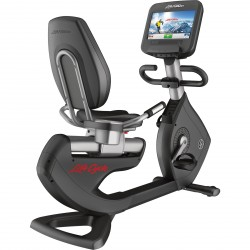 Vélo semi-allongé Life Fitness Platinum Club Series Discover SE