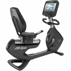 Vélo d'appartement semi-allongé Life Fitness Platinum Club Series Discover SI