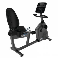 Vélo d'appartement allongé RS3 Track Connect de Life Fitness