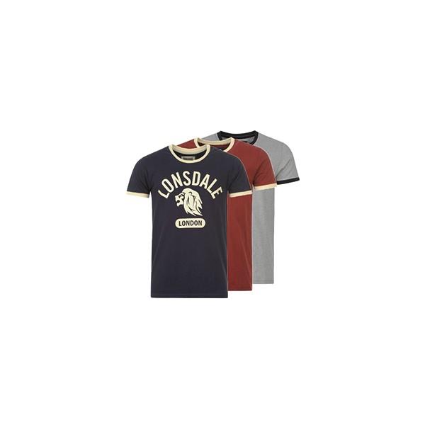 Lonsdale T-Shirt Men's Ringer Tee