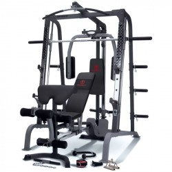 Marcy Fitness Smith Rack Deluxe