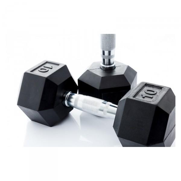 Muscle Power Hexa Dumbbell Set 2 x 1 t/m 10 kg