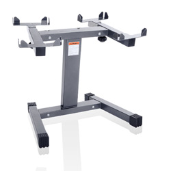 Personality Gym Quick Load compact dumbbell stand