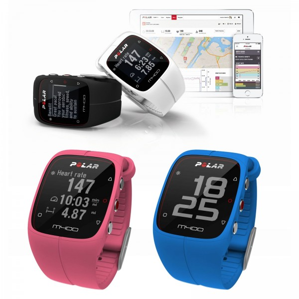 Polar GPS sport watch M400 (HR)