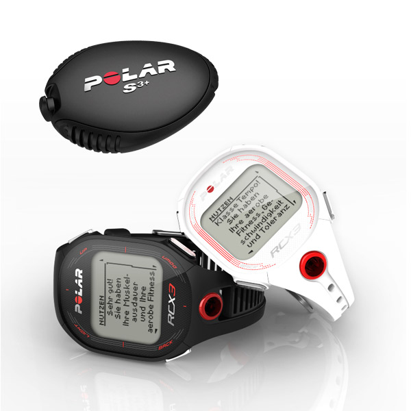 Polar cardiofréquencemètre RCX3 RUN