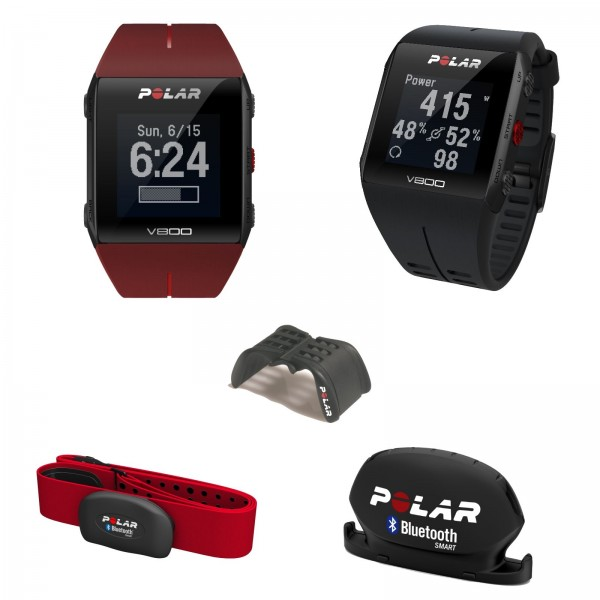 Polar V800 HR Javier Gomez Noya Sonderedition, rot