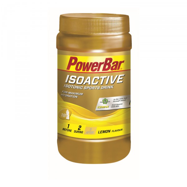 Powerbar Isoactive Sports Drink, 600g MHD