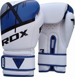 RDX Bokshandschoenen BGR-F7 Blauw/wit | Boksen, sparren