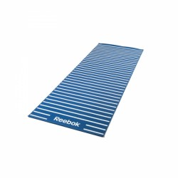 Reebok Double Sided 4mm Yoga Mat, striped