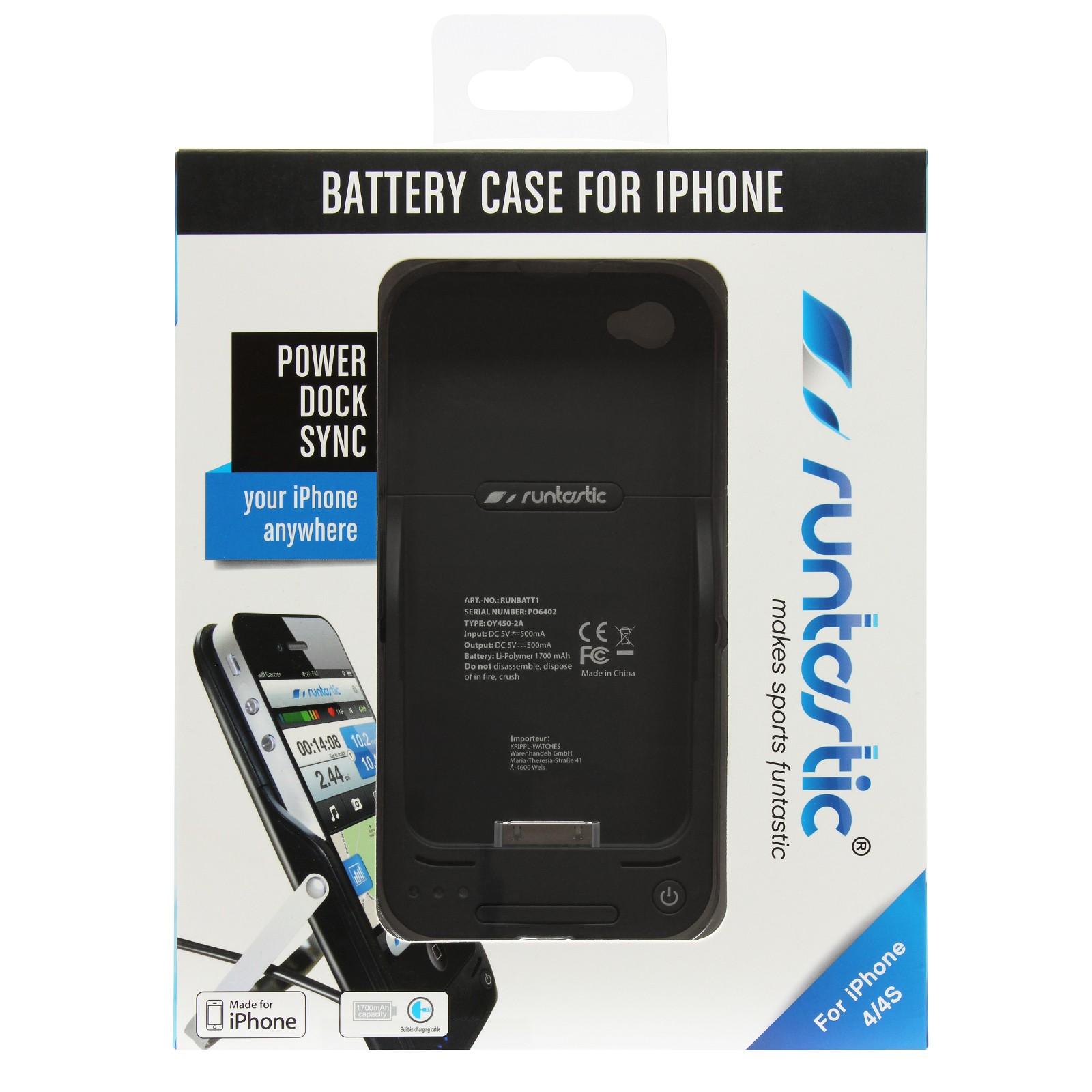 lot de batterie runtastic pour iphone 4 4s fitshop. Black Bedroom Furniture Sets. Home Design Ideas