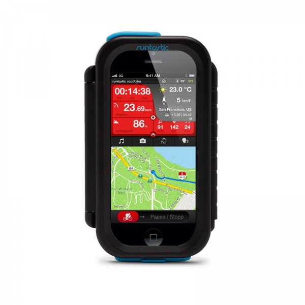 Fixation guidon Runtastic Bike Case pour Android