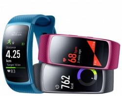 Samsung Wearable Gear Fit 2 SM-R3600, einzeln nu online kopen