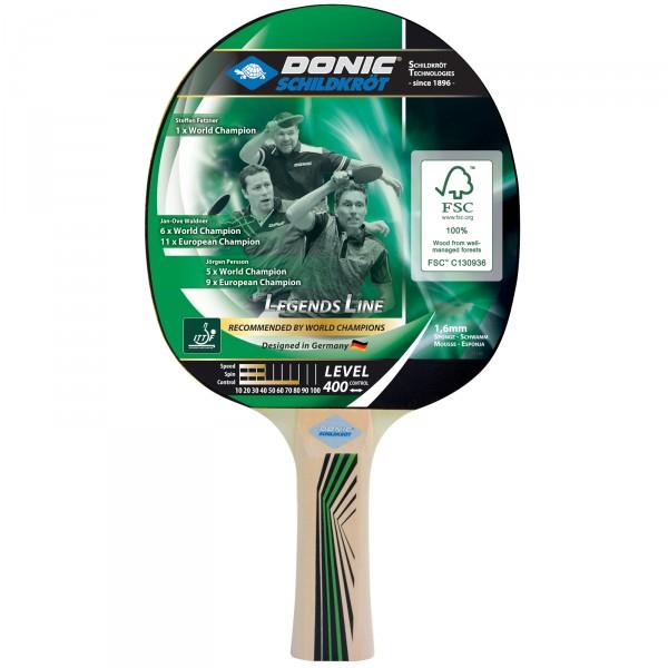 Donic-Schildkröt table tennis bat Top Teams 400, anatomic
