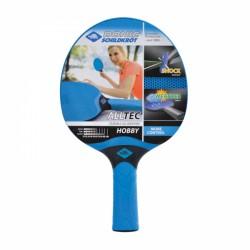 Raquette de ping-pong Donic-Schildkröt Alltec Hobby All Weather, concave