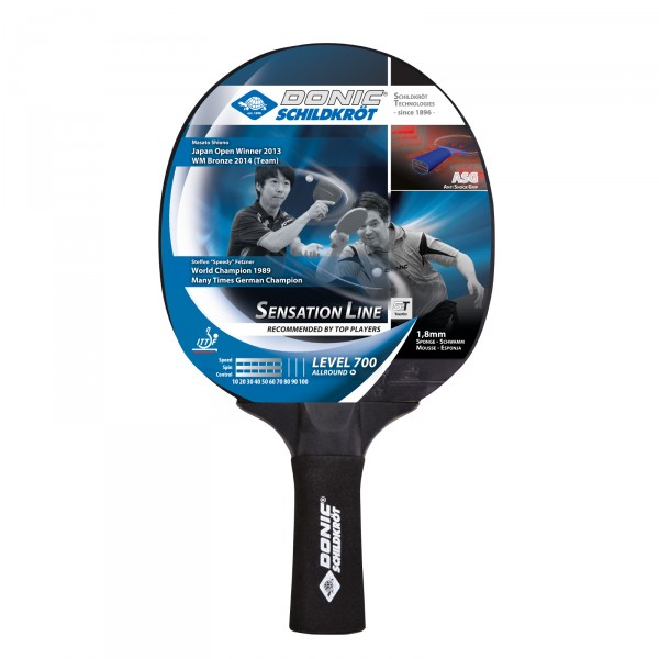 Donic-Schildkröt table tennis bat Sensation 700