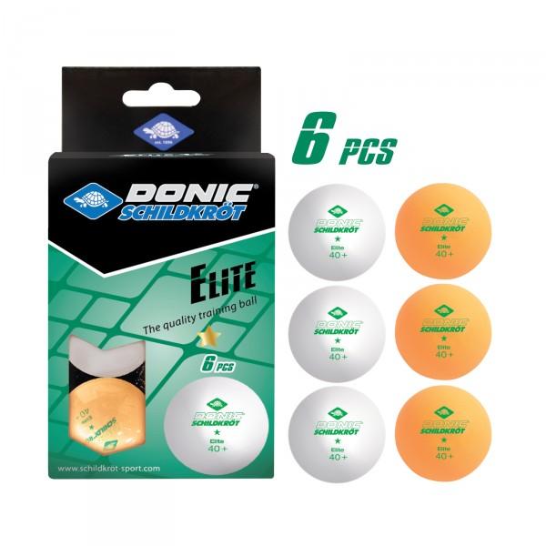 Pingpongové míčky Donic-Schildkröt Elite 1* Poly