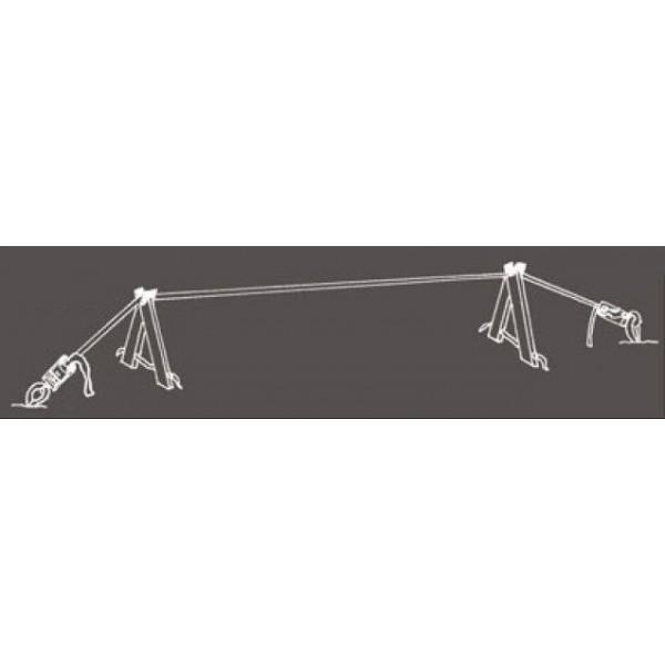 Slackline-Tools Frameline Sæt 10m
