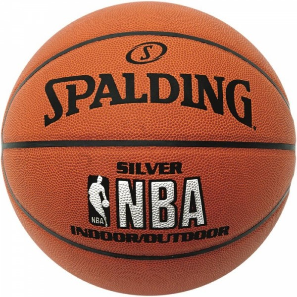 Basketbalový míč Spalding NBA Silver