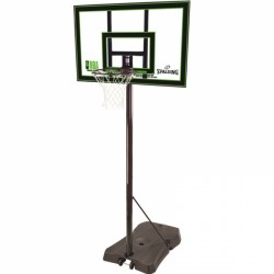 Spalding-basketboldkurv m. stativ NBA Acryl