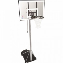 Spalding portable basketball system NBA Silver purchase online now