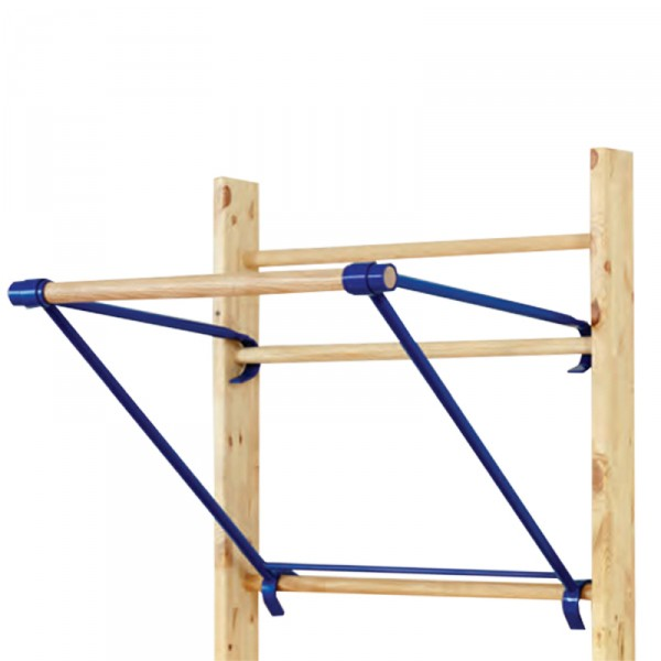 Chin-up bar for wall bars