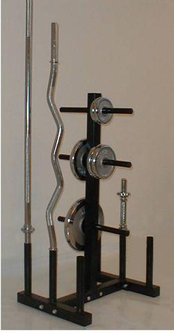 Rack à haltères Taurus pour disques et barres de musculation