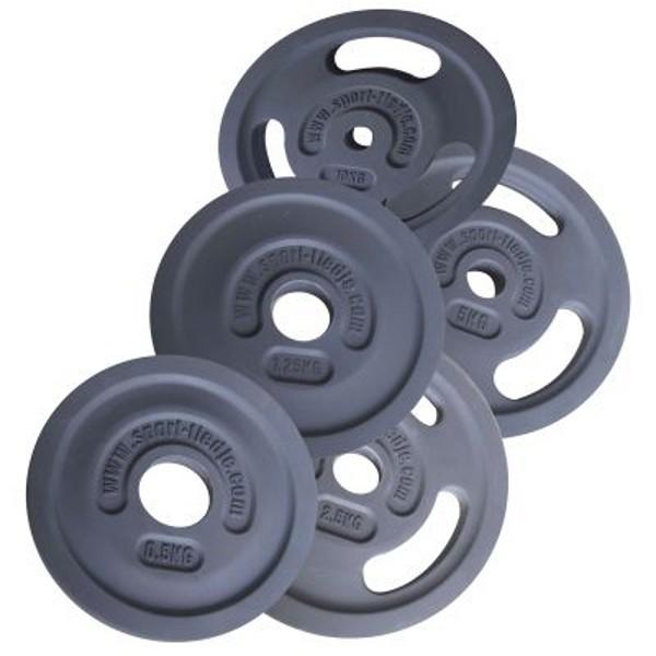 Sport-Tiedje Rubber Encased 3G Premium Weight Plates