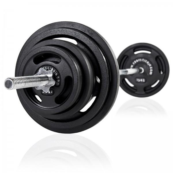 Vægtstangssæt 90 kg