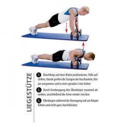 Øvelsesplakat håndvægte Detailbild