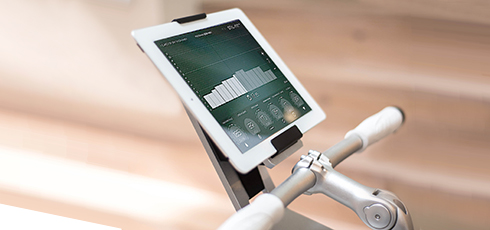 Figure: Stil-Fit fitness app for detailed training analysis