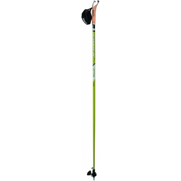 Bâton marche nordique Swix Pointe CT4 Just Click Swix Twist & Go Lime Composite
