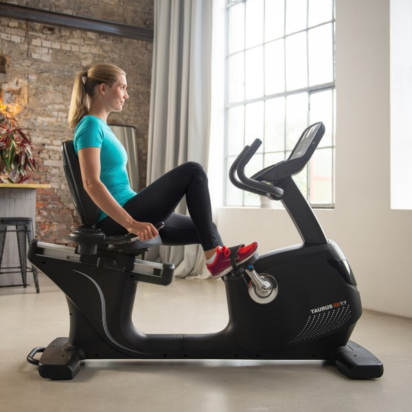 Taurus Recumbent Bike RB9.9 - Kinomap compatible