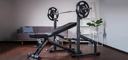 Figure: Vægtstangsstativ Deluxe: stabilt og samtidig fleksibelt