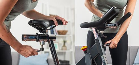Vélo de biking Taurus IC50 S'adapte à chaque utilisateur