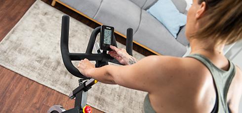 Vélo de biking Taurus IC50 Toutes les données d'entraînement en un coup d'œil