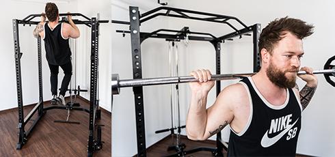 Cage à squat Taurus Ultra Pro Stabilité à toute épreuve