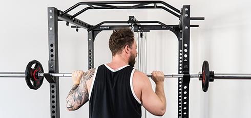 Cage à squat Taurus Ultra Pro Entraînez-vous en toute sécurité