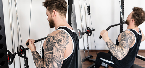 Cage à squat Taurus Ultra Pro Poulie intégrée pour des entraînements complets